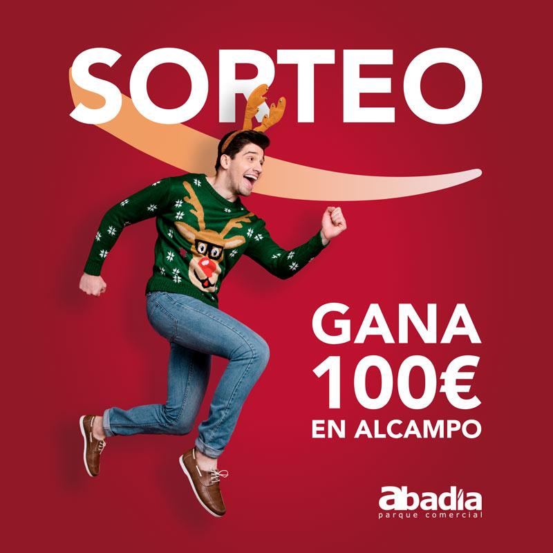 Gana 100€ en Alcampo para hacer tus compras navideñas